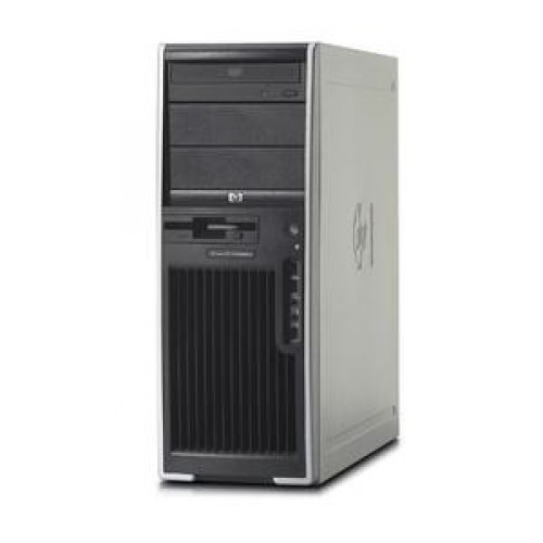 Statie Grafica SH HP XW4400, Intel Core 2 Quad Q6600, 2.40Ghz, 4Gb RAM DDR2 ECC, 160 Gb HDD, DVD-RW