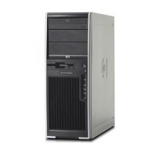 Statie Grafica SH HP XW4400, Intel Core 2 Quad Q6600, 2.40Ghz, 4Gb RAM DDR2 ECC, 160 Gb HDD, DVD-RW