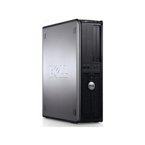 Pc Dell Optiplex GX760, Intel Core 2 Duo E6550, 2.3Ghz, 1Gb DDR2, 160Gb SATA2, DVD-ROM