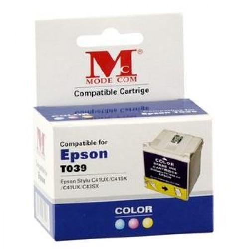 Cartus Color cerneala  Modecom ,Compatibil pentru EpsonT039, NOU