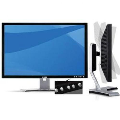 Monitor SH DELL 2208W, LCD 22 inch, 1680 x 1050, VGA, DVI, USB x 4, Widescreen, Grad A-