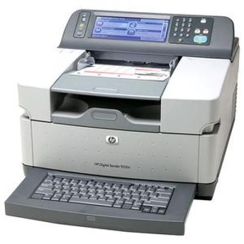 HP 9250c Digital Sender, Send to email, Send to folder, LDAP