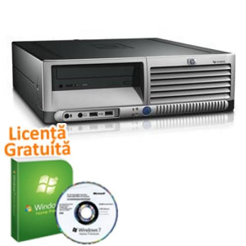 Calculator SH HP DC7600 Pentium 4, 3.2GHz, 2Gb DDR2, 80Gb HDD, DVD-ROM + Win 7 Premium