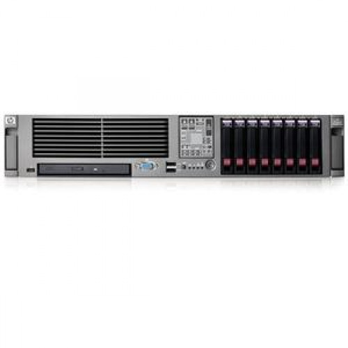 HP Proliant DL380 G5, 2x Xeon Quad Core X5355 2.66Ghz, 8Gb DDR2 FBD, 2x 146Gb SAS, RAID p400
