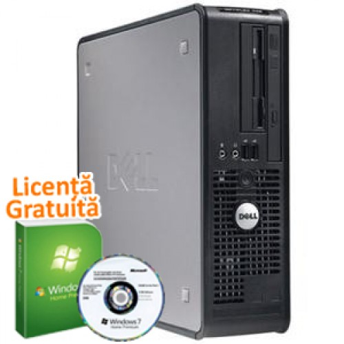 PC Dell GX620 Desktop, Pentium 4, 3.2Ghz, 2Gb DDR2, 80Gb SATA, DVD-ROM + Win 7 Premium