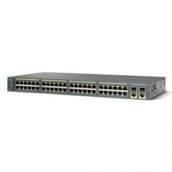 Switch Cisco WS-C2960-48TC-S, 48 porturi 10/100