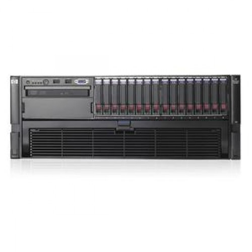Server HP Dl580 G5, 4x Xeon Quad Core X7350, 2.93Ghz, 32Gb DDR2 FBD, 2x 500Gb SATA, Raid