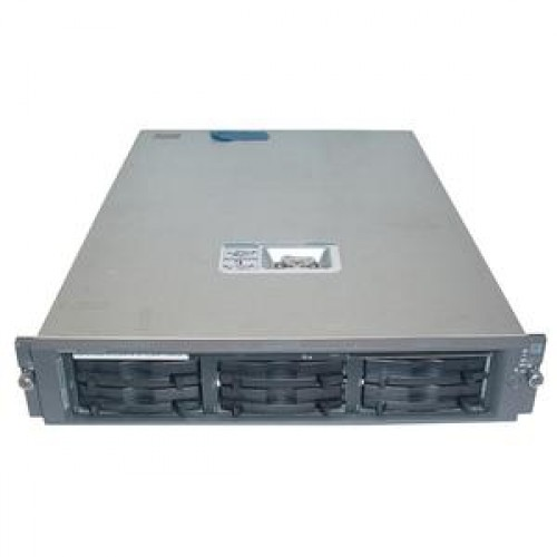 Server SH Rack Compaq Proliant DL380 G2, 2 X Intel Xeon 400Mhz, 6x 36Gb SCSI, 2 GB RAM, CD-ROM, Smart Raid 5i