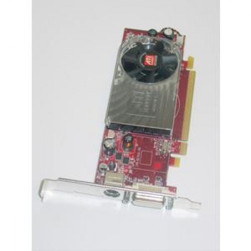 Placa Video Ati Radeon HD 3450, 256mb, PCI-express, DMS-59, S-Video, low profile design + Adaptor de la DMS-59 la VGA