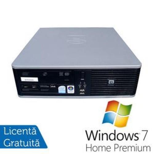 PC HP DC5800 SFF, Intel Core 2 Duo E8400, 3.0Ghz, 2Gb DDR2, 80Gb HDD, DVD-ROM + Win 7 Premium