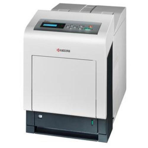 Imprimanta Laser Color Kyocera FS-C5300DN, Duplex, Retea, 24 ppm, USB 2.0, USB Host
