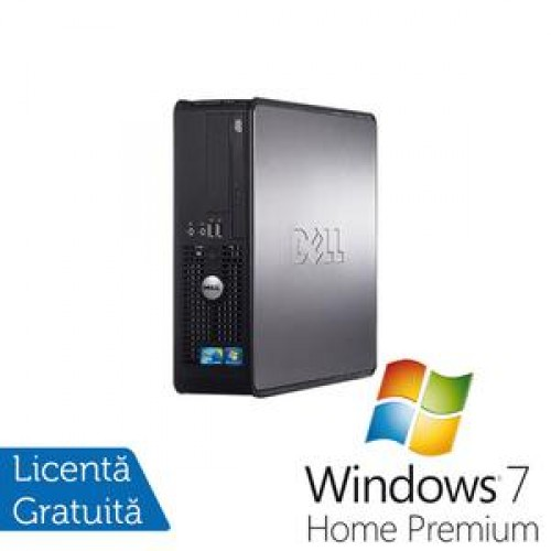 Dell Optiplex 780 SFF, Intel Core 2 Duo E8400, 3.0Ghz, 4Gb DDR3, 160Gb, DVD-RW + Windows 7 Home Premium