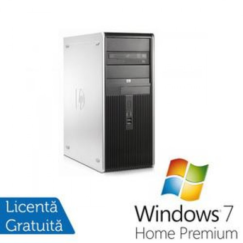 PC HP DC7800 Tower, Intel Core 2 Duo E4500 2.2Ghz, 2Gb, 80Gb SATA, DVD-RW + Windows 7 Home Premium