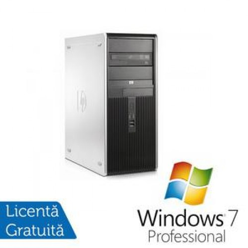 PC HP DC7800 Tower, Intel Core 2 Duo E7200 2.53Ghz, 2Gb, 80Gb SATA, DVD-ROM + Windows 7 Professional