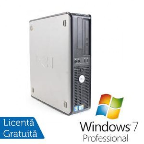 Calculator Dell OptiPlex 780 Desktop, Intel Core 2 Quad Q9400, 2.66Ghz, 4Gb DDR3, 250Gb HDD, DVD-RW + Win 7 Professional