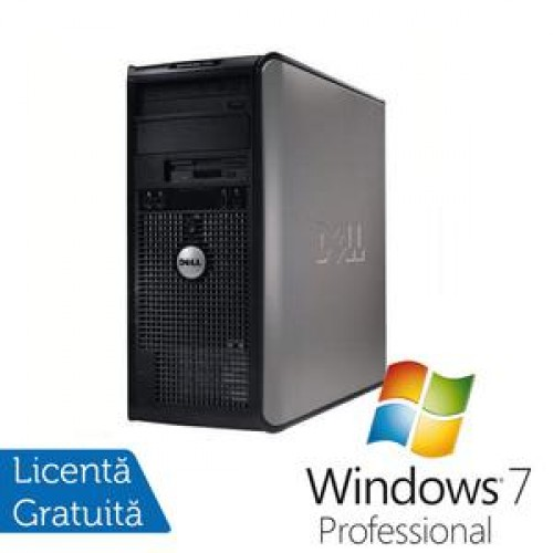 PC Dell Optiplex 755, Intel Core 2 Duo E6750, 2.66Ghz, 2Gb DDR2, 160Gb HDD, DVD-RW + Win 7 Professional