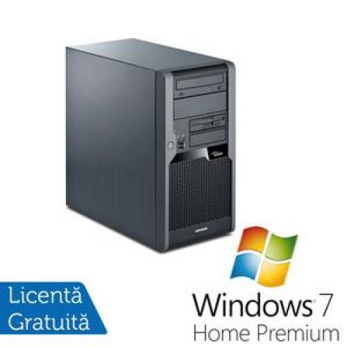 Calculator Fujitsu P5731, Intel Core 2 Quad Q9400 2.66Ghz, 4Gb DDR3, 320Gb SATA, DVD-RW + Windows 7 Home Premium