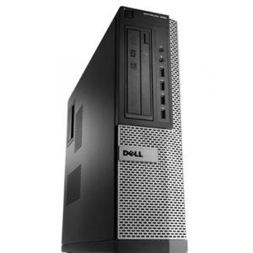 PC Dell OptiPlex 990 Desktop, Intel i3-2100, 3.10Ghz, 4Gb DDR3, 320Gb SATA, DVD-RW + Windows 7 Professional