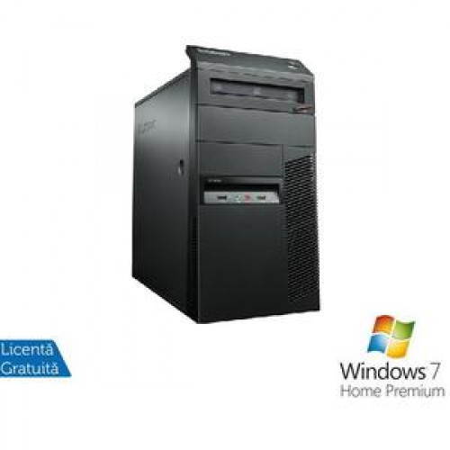 PC  Lenovo M90p Tower, i5-650 3.2Ghz, 4Gb DDR3, 250Gb HDD, DVD-RW + Windows 7 Home Premium