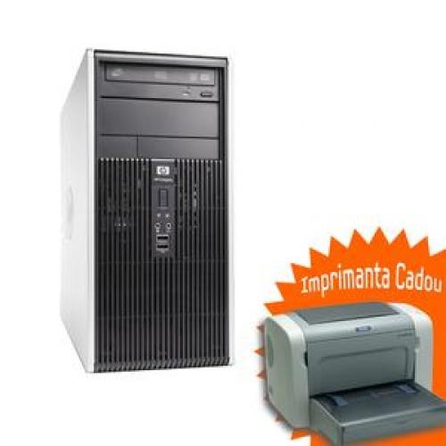 PC HP DC7900, Core 2 Duo E8400, 3.0Ghz, 2Gb DDR2, 250Gb HDD, DVD-RW + Imprimanta EPL-6200 Cadou
