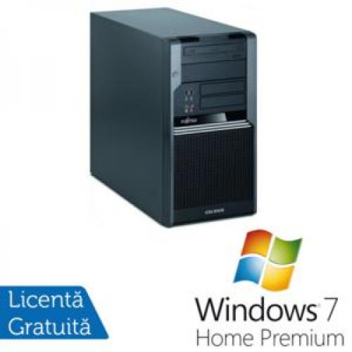 PC Fujitsu CELSIUS W380, Intel Core i5-650 3.2Ghz, 4Gb DDR3, 320Gb SATA NOU, DVD-RW + Windows 7 Home Premium