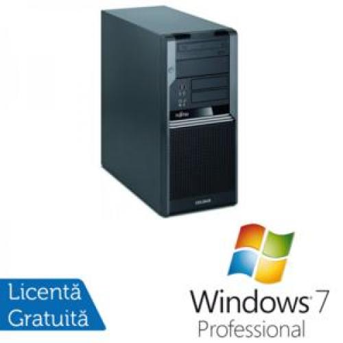 PC Fujitsu CELSIUS W380, Intel Core i5-650 3.2Ghz, 4Gb DDR3, 320Gb SATA NOU, DVD-RW + Windows 7 Professional