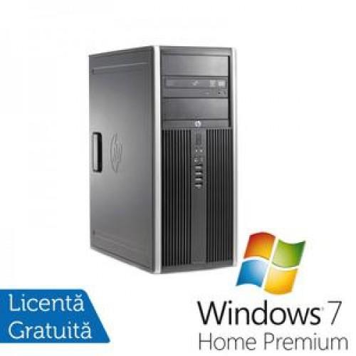 Calculator HP 6200 Pro, Intel Core i3-2100 3.1Ghz, 4Gb DDR3, 250Gb SATA, DVD-RW + Windows 7 Home Premium