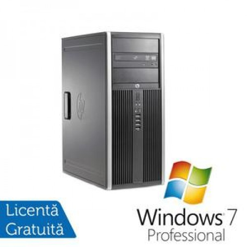 PC HP 6200 Tower, Intel Core i5-2400 Up to 3.4Ghz, 4Gb DDR3, 250Gb SATA, DVD-RW + Windows 7 Professional