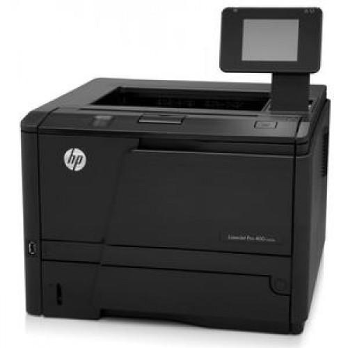 Imprimanta Laser Monocrom HP M400 401DN, 35 ppm, Duplex, Retea, USB, 1200 x 1200, A4, Cartus nou 2.7K