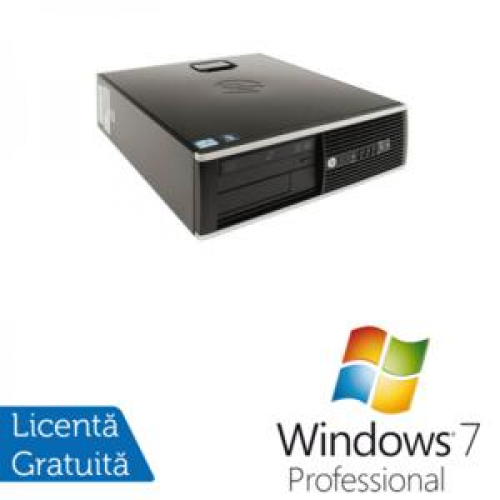 PC HP 8200 Elite SFF, Intel Core i3-2120 3.3Ghz, 4Gb DDR3, 250Gb SATA, DVD-RW + Windows 7 Professional