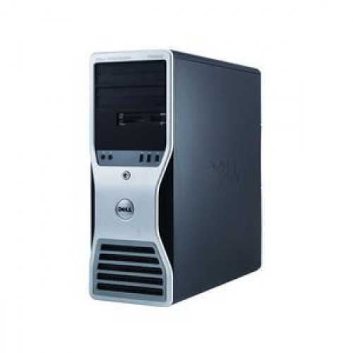 Workstation Dell T5500, 1 x Intel Xeon E5645 Six Core 2.4Ghz, 12Mb cache, 12GB DDR3, 500GB, Video Quadro4000 2GB GDDR5 , DVD-RW