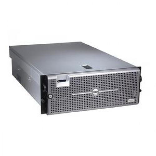 Server DELL R900, 4x Intel Xeon X7350 2.93Ghz, 96Gb DDR2 ECC, 2x 1Tb SAS, DVD-ROM, Raid PERC 6I, 2x 1570W HS