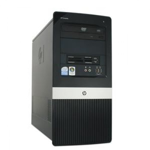 PC Sh HP DX2450, AMD x 2 5200, 2.7Ghz, 2Gb DDR2, 80Gb SATA, DVD-RW