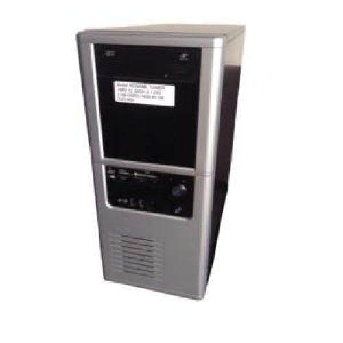 PC No Name Tower, AMD x2 5200+ 2.7Ghz, 2Gb DDR2, 80Gb SATA, DVD-RW
