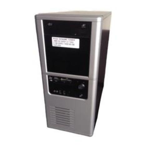 PC No Name Tower, AMD x2 5200+ 2.7Ghz, 2Gb DDR2, 80Gb SATA, DVD-RW