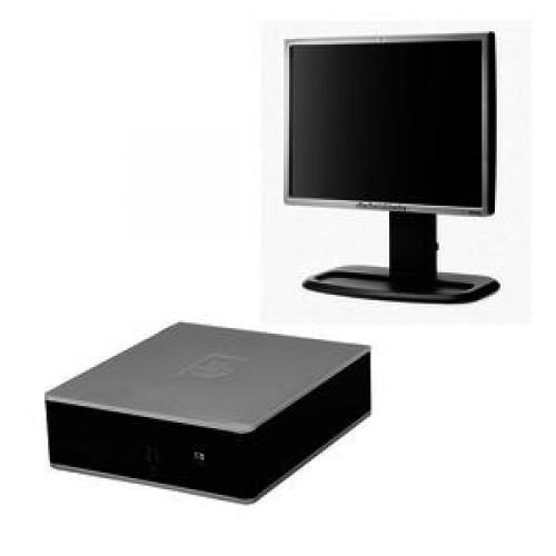 HP DC5800, Intel Core2 Duo E8400 3.0Ghz, 4Gb DDR2, 160Gb SATA, DVD-ROM + Monitor HP 19 inch