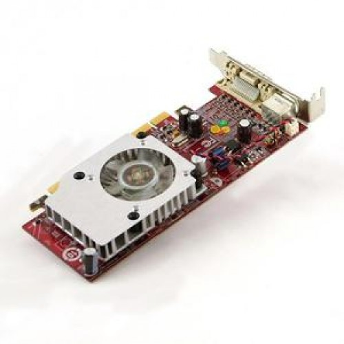 Placa video PCI-E IBM ATI RV610 256M LP PCIe x16 - FRU43C0260 iesire DMS-59 low profile + Adaptor de la DMS-59 la VGA
