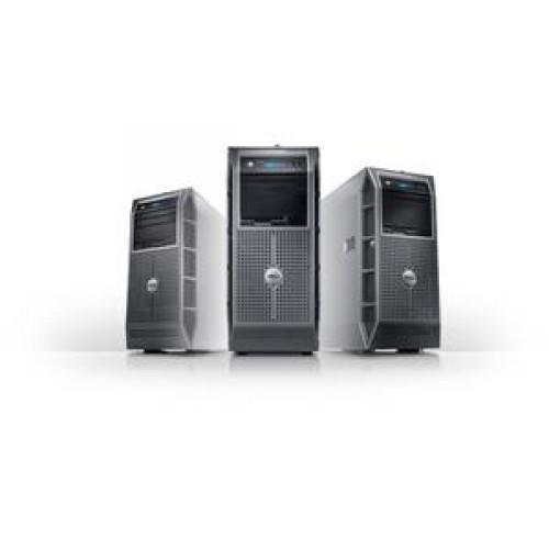 Server Dell PowerEdge T300, Intel Xeon Quad Core X3353 2.66 Ghz, 8GB RAM, 2x500GB SATA, 2x PSU HOT-SWAP, DVD-ROM