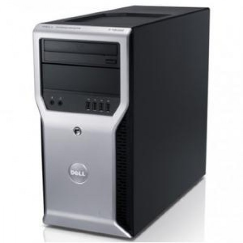 Workstation Dell Precision T1600, Intel Xeon E3-1225 3.1Ghz, 8Gb DDR3, 500Gb SATA, DVD-RW, NVIDIA Quadro FX580 512MB