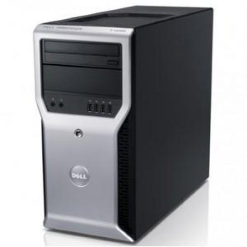 Workstation Dell Precision T1600, Intel Xeon E3-1225 3.1Ghz, 16Gb DDR3, 1Tb SATA, DVD-RW, NVIDIA Quadro FX580 512MB