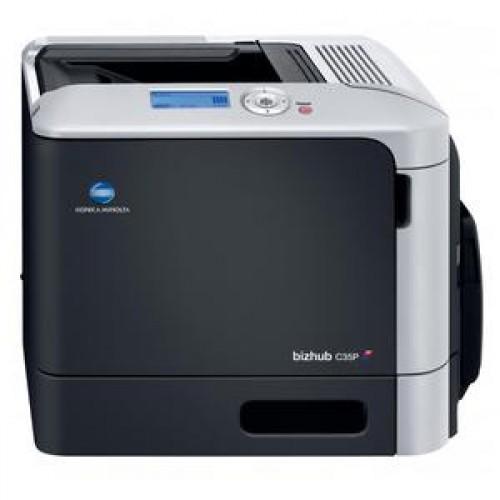 Imprimanta Laser Color KONICA Minolta Bizhub C35p, Duplex, Retea, USB, 30 ppm