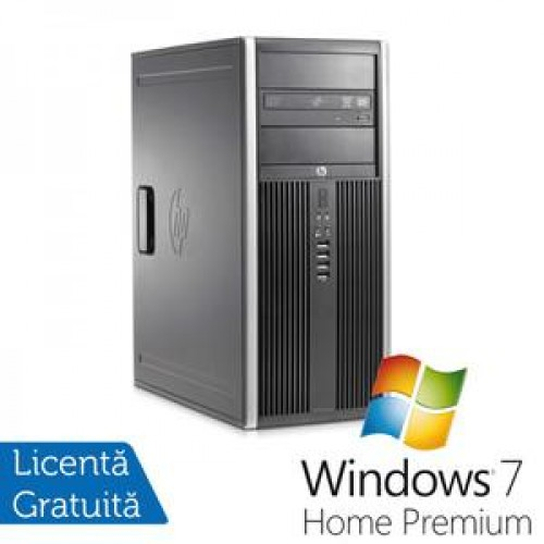 PC HP 8300 Tower, Intel Core i5-3470 Gen 3, 3.2 Ghz, 4GB DDR3, 250GB, DVD-RW + Windows 7 Home Premium