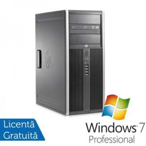 PC HP 8300 SFF, Intel Core i5-3570 Gen 3, 3.4 Ghz, 4GB DDR3, 250GB, DVD-RW + Windows 7 Professional