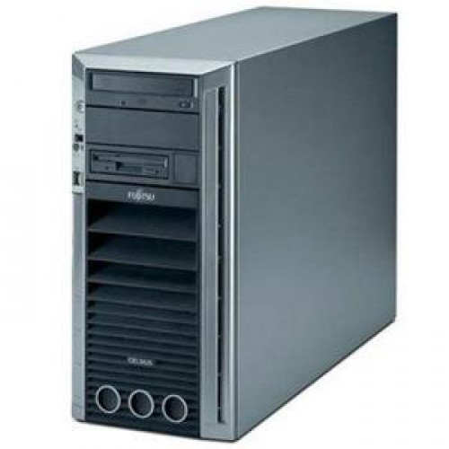 Workstation Fujitsu CELSIUS V840, 2x AMD Opteron 2380 2.5 Ghz, 16Gb DDR2, 320Gb SATA, DVD-ROM, NVIDIA Quadro FX3800 1GB