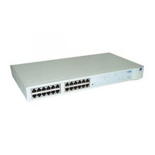 Hub 3COM 3C16671, 24 porturi 10Base-T