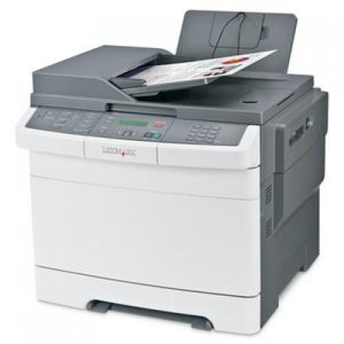 Multifunctionala Laser Color Lexmark X544N, 23 ppm, Fax, Copiator, Scanner, Retea, USB