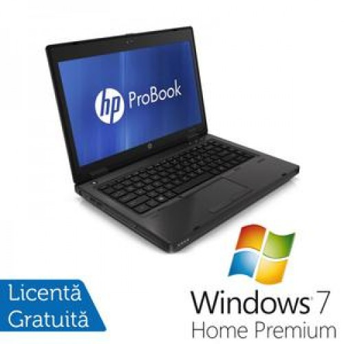 HP ProBook 6460b, Intel Core i5-2520M 2.5Ghz Gen. 2, 4Gb DDR3, 320Gb HDD, DVD-RW, Wi-Fi, 14 Inch LED backlit HD + Windows 7 Home Premium