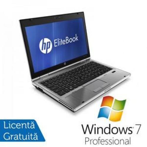 Laptop Hp EliteBook 2560p, Intel Core i5-2520M 2.5Ghz, 4Gb DDR3, 320Gb SATA, DVD-RW, 12,5 inch  + Win 7 Professional