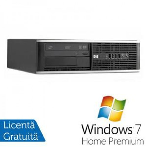 PC HP 8300 SFF, Intel Core i3-3220 Gen 3, 3.3 Ghz, 4GB DDR3, 250GB, DVD-RW + Windows 7 Home Premium