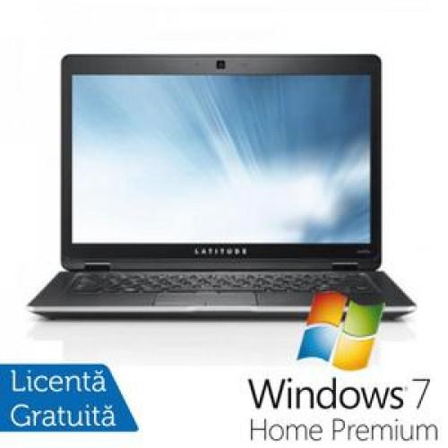 Laptop Dell Latitude E6430, Intel i5-3320M Gen. a 3-a, 2.6Ghz, 4Gb DDR3, 320Gb, DVD-RW, 14 inch HD Anti-Glare LED + Win 7 Home Premium